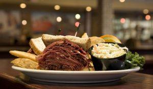 Mile High Corned Beef Sandwich - Chompie's